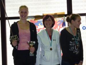 Amber Van Landeghem haalt goud in Neufchâteau