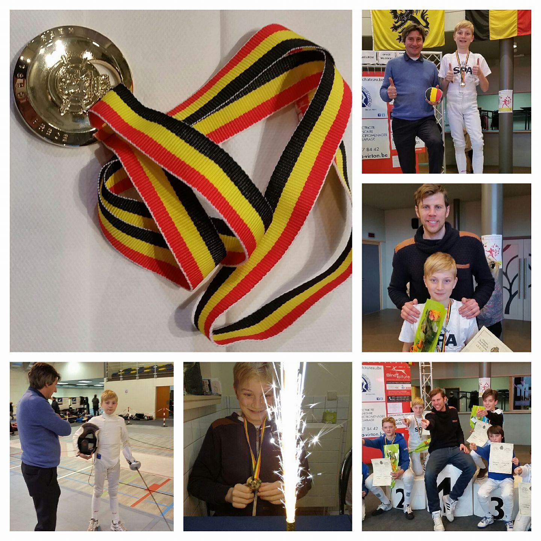 Aeneas is Belgisch kampioen